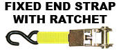 Fixed End Strap with Ratchet
