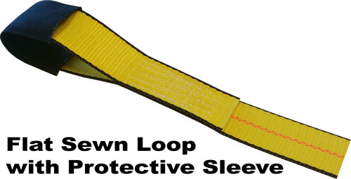 Flat Sewn Loop with Sleeve