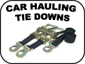 CAR HAULING TIE DOWNS