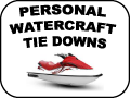 personal watercraft tie downs
