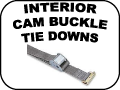 interior cam buckle tie downs