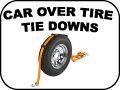 CAR OVER TIRE TIE-DOWNS