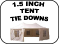 1.5 inch tent tie-Down