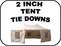2 inch tent tie-Downs