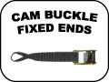CAM BUCKLE FIXED ENDS