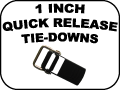 1 inch quick release tie-Downs