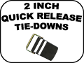 2 inch quick release tie-Downs