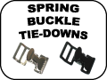 SPRING BUCKLE TIE-DOWNS