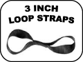 3 inch loop straps
