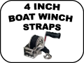 Boat Winch Straps - 4 Inch