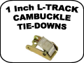 l-track cam buckle tie downs