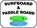 surfboard & paddle board