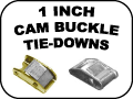 1 INCH CAM BUCKLE TIE DOWNS