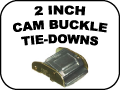 2 INCH CAM BUCKLE TIE DOWNS