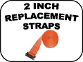 2 INCH REPLACEMENT STRAPS