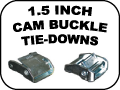 1.5 INCH CAM BUCKLE TIE DOWNS