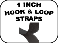 1 inch hook and loop straps