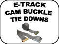 E-TRACK CAM BUCKLE TIE DOWNS
