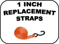 1 inch replacement straps
