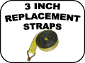 3 inch replacement straps