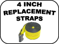 4 INCH REPLACEMENT STRAPS